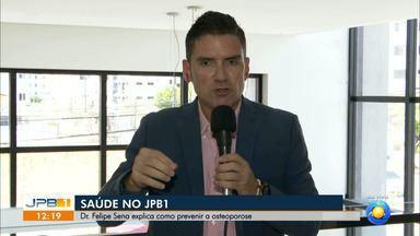 Médico da PB tira dúvidas sobre osteoporose - Dr. Felipe Sena responde perguntas de telespectadores.