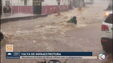 Eleições 2020: candidatos à Prefeitura de Patos de Minas falam sobre chuvas - Moradores sofrem com os alagamentos e querem saber propostas. Confira.