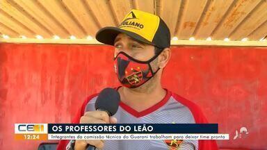 Esporte: equipes do interior se preparam para série B do Cearense - Saiba mais no g1.com.br/ce