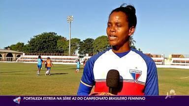 Conheça Miriam Paixão: goleira do Fortaleza que já defendeu a Seleção da Guiné Equatorial - Conheça história de Miriam Paixão: goleira do Fortaleza que já defendeu a Seleção da Guiné Equatorial