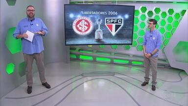 Reveja a transmissão da RBS TV de Inter 2x2 São Paulo pela Libertadores de 2006 - Assista ao vídeo.