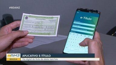 Aplicativo E-Título pode ser usado na hora de votar - Via digital do título apresenta foto.