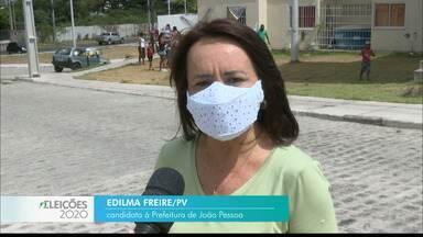 Veja a agenda de campanha de Edilma Freire nesta terça-feira - Candidato do PV à prefeitura de João Pessoa.