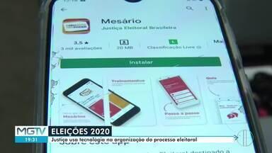 Justiça Eleitoral usa aplicativos digitais para organização das eleições - A tecnologia tem sido uma forte aliada das pessoas, órgãos e instituições na pandemia.