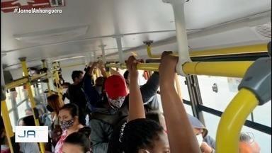 Candidatos a prefeitura de Goiânia dizem como devem melhorar o transporte público - Atualmente, 239 ,mil pessoas utilizam o transporte coletivo diariamente. Antes da pandemia, eram mais de 520 mil.