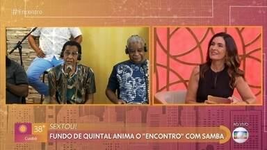 Fundo de Quintal anima o 'Encontro' com samba - Grupo anuncia live 'Reencontro' com repertório variado e muitos sucessos