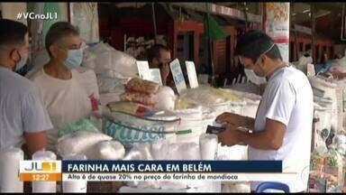 Alta no preço da farinha de mandioca é de quase 20% - Alta no preço da farinha de mandioca é de quase 20%