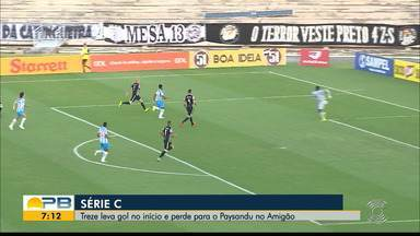 Treze 0 x 1 Paysandu, pela rodada #12 da Série C - Papão vence o Galo no Amigão