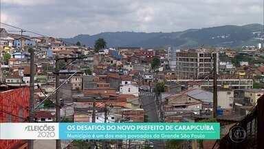Carapicuíba ainda enfrenta problemas na área da habitação, mobilidade e geração de emprego - Município tem 11 candidatos a prefeito nas próximas eleições.