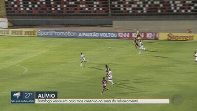 Mesmo com vitória, Botafogo-SP continua na zona do rebaixamento - Jogo do fim de semana acabou em 2 a 1 para o time de Ribeirão Preto.