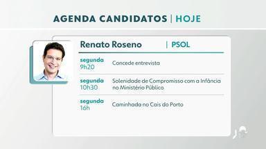 Confira a agenda dos candidatos à prefeitura de Fortaleza - Saiba mais em g1.com.br/ce