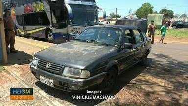 Assaltante morre durante confronto com a Polícia Militar em Foz do Iguaçu - Eles tentaram assaltar clientes de uma agência de viagens.