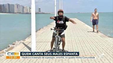 'Minha Comunidade' estará na Praia de Iracema nesta terça-feira (26) - Saiba mais em g1.com.br/ce