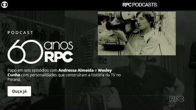 RPC completa 60 anos esta semana - Podcasts contando a trajetória da emissora estão disponíveis no site.