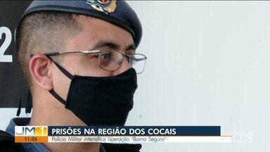 Homem foi preso depois de ameaçar a companheira, em São João do Sóter - Polícia Militar intensifica operação 'Bairro Seguro' na Região dos Cocais