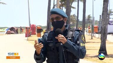Polícia fala sobre crime registrado na Orla da Atalaia - Polícia fala sobre crime registrado na Orla da Atalaia.