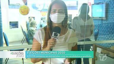 Maria (PT) é a primeira candidata a prefeitura de Santarém a participar de entrevistas - Rodada de entrevistas começou nesta segunda-feira (26), na 94 FM.