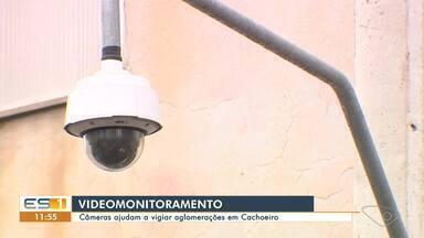 Câmeras ajudam a vigiar aglomerações em Cachoeiro de Itapemirim - Assista.