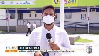 Unidade pediátrica da UPA de São Pedro da Aldeia, RJ, volta a funcionar - Unidade fechou na sexta-feira (23) por falta de salários dos funcionários.