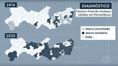 Lixões ainda são usados para depósito de resíduos em 71 dos 184 municípios de Pernambuco - Dados sobre destinação de lixo foram divulgados nesta segunda (26) pelo Tribunal de Contas do Estado (TCE)