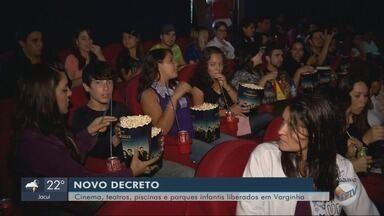 Decreto libera funcionamento de cinemas e outros setores em Varginha - Decreto libera funcionamento de cinemas e outros setores em Varginha