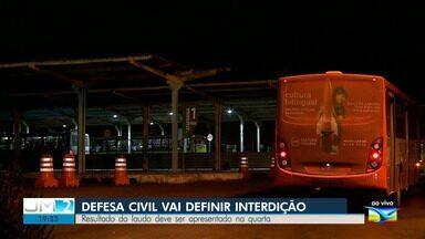 Defesa Civil vai definir interdição do Terminal da Praia Grande - Resultado do laudo deve ser apresentado na quarta-feira (28).