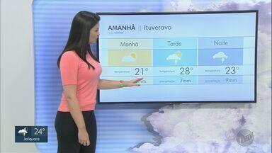 Confira a previsão do tempo para esta terça-feira (27) na região de Ribeirão Preto - Alguns bairros podem ser atingidos por temporais.