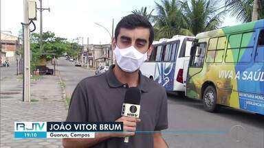 Guarus, em Campos, RJ, tenho o maior número de casos subnotificados da Covid-19 da cidade - De acordo com levantamento do município, 1 em cada 5 pessoas tiveram a doença no subdistrito.