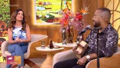 Programa de 27/10/2020 - Fátima Bernardes conversa com casal que foi diagnosticado com câncer em um curto intervalo de tempo e enfrenta o tratamento junto. Dudu Nobre participa do 'Encontro' presencialmente e canta ao lado da apresentadora