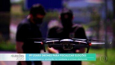 Polícia Federal usará drones para fiscalizar eleições - No Estado de São Paulo, serão pelo menos 16 drones que vão ajudar a reprimir e evitar crimes eleitorais