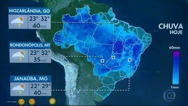 Meteorologia prevê mais chuva para o oeste e sul da Bahia nesta quarta-feira - Ainda tem resquícios da tempestade subtropical do começo da semana, que deixou nuvens carregadas sobre o estado da Bahia. Veja como fica o tempo em todo o país.