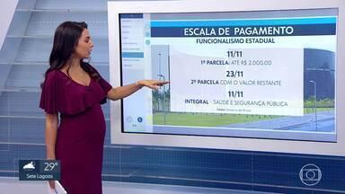 Governo de Minas anuncia escala de pagamento do funcionalismo para novembro - A primeira parcela vai ser depositada no dia 11.
