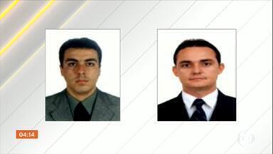 Polícia de Goiânia investiga o assassinato de dois advogados - Eles foram mortos a tiros dentro do próprio escritório. Testemunhas contaram que dois homens entraram no local e executaram as vítimas.