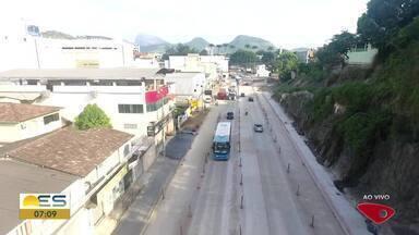 Drone do Bom Dia ES sobrevoa rodovia Leste-Oeste - Veja a seguir.