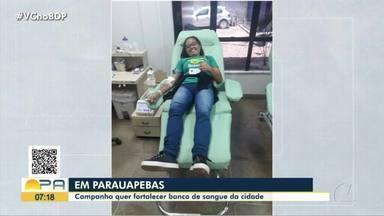 Campanha fortalece doação de sangue ao Hemopa de Parauapebas - Campanha fortalece doação de sangue ao Hemopa de Parauapebas