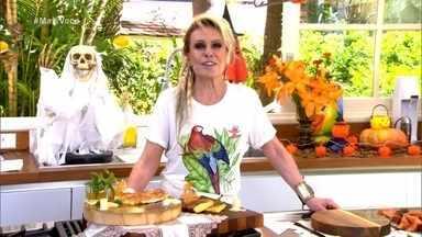 Programa de 30/10/2020 - Confira como foi o jantar romântico de Heitor no quadro 'Solteiros Online'! Ana Maria Braga ensina a receita de tapioca rendada, que leva apenas 3 ingredientes