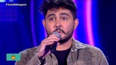 Goiano conquista vaga no The Voice Brasil - Cantor Manso foi selecionado na edição de terça-feira.