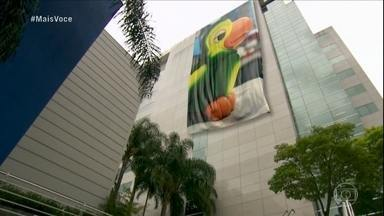 Mais Você inicia com homenagem a Louro José - Confira lindos momentos do Papagaio mais famosos do Brasil