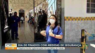 Homenagens a parentes falecidos são adaptadas na pandemia - Saiba mais em g1.com.br/ce