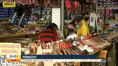 Comércio aberto em São Luís no feriado de Finados - Com autorização pra funcionar no feriado, comerciantes esperam melhorar os lucros em meio a pandemia do novo coronavírus.