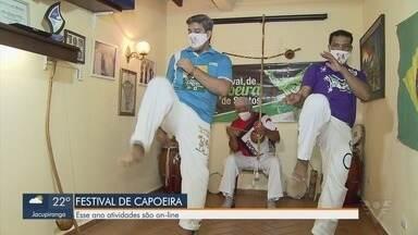 Festival de Capoeira tem programação online - Transmissão será feita pelas redes sociais.