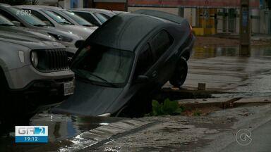 Chuva forte causa transtornos em Petrolina - Muitos bairros foram afetados