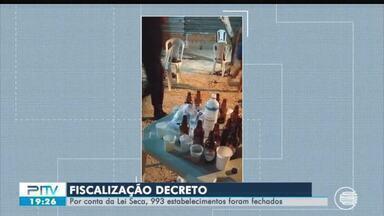 Fiscalização fecha quase mil estabelecimentos durante final de semana no Piauí - Fiscalização fecha quase mil estabelecimentos durante final de semana no Piauí