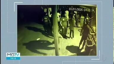 Jovem atingido por tiro em casa de shows de Governador Valadares continua internado - Imagens da câmera de segurança registraram o momento.