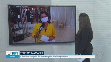 Cerimônia Tooro Nagashi faz homenagem aos antepassados em Registro - Em 2020, o evento vai ser realizado de forma reduzida por conta da pandemia.