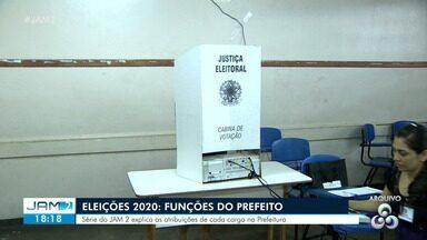 Eleições 2020: Série do JAM 2 explica as atribuições de um prefeito - Eleições municipais ocorrem em novembro de 2020