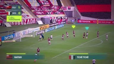 Gol de videogame! Tchê Tchê domina com categoria e marca golaço contra o Flamengo - Gol de videogame! Tchê Tchê domina com categoria e marca golaço contra o Flamengo.