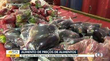 Preços dos alimentos sofrem variação nas feiras - Veja o que está mais caro.