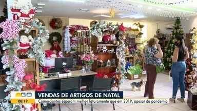 Apesar da pandemia, venda de artigos de Natal deve ser maior do que 2019 - Quem trabalha no setor está animado.