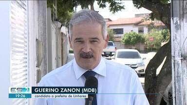 Guerino Zanon fala sobre propostas para a segurança pública em Linhares, ES - Veja na reportagem.